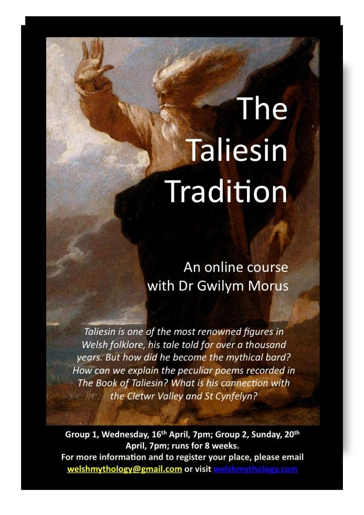 Taliesin course online flier
